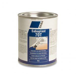 Sabacontact 70T 1 liter zacht PVC lijm (voorheen Sabaplast)