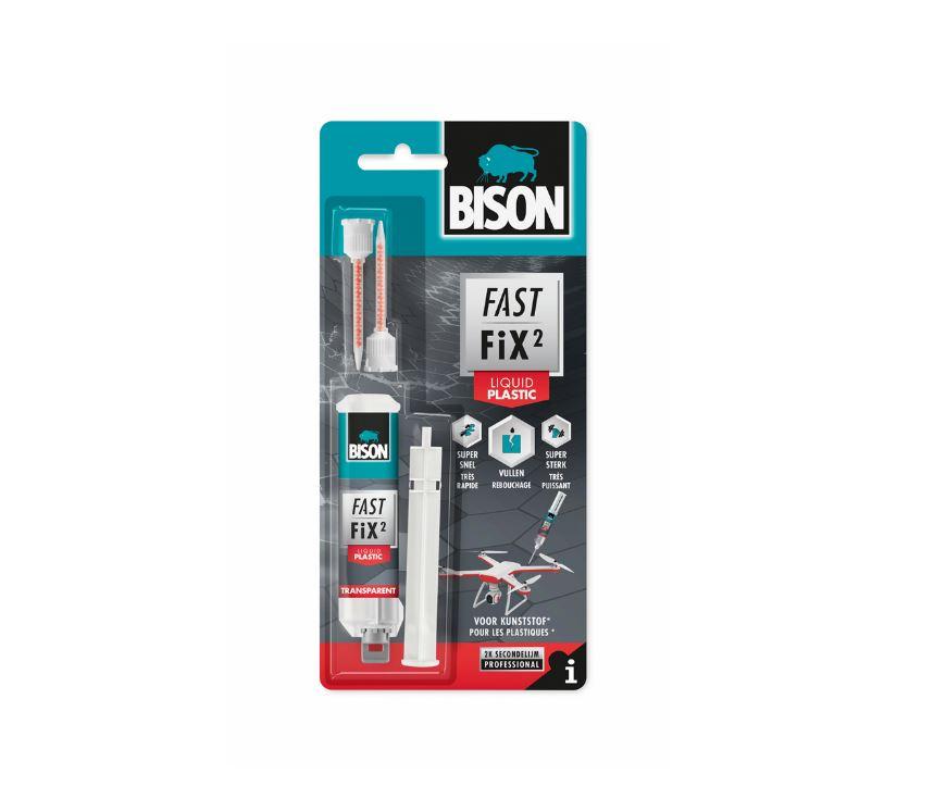 Bekend Bison Fast Fix plastic tweecomponentenlijm - Lijmwebshop.nl YL12