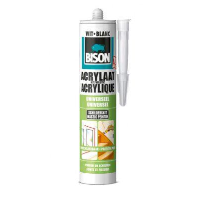 Bison acrylaatkit wit
