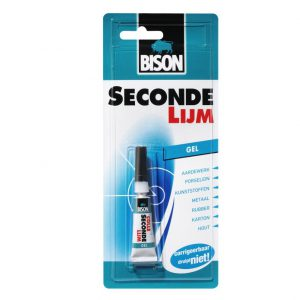 Bison secondelijm gel 3 gram