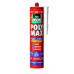 Bison Poly Max High Tack Express wit 425 gram