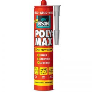 Bison Poly Max express grijs 425 gram