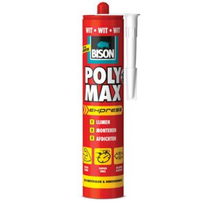 Bison Poly Max express wit 425 gram