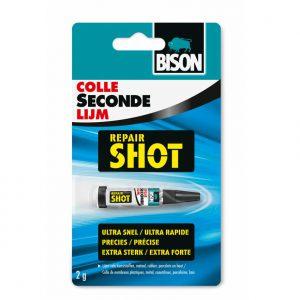 Bison secondelijm repair shot
