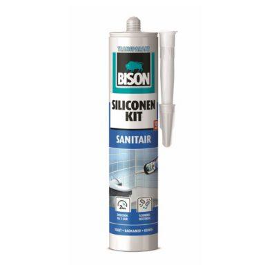 Bison siliconenkit sanitair transparant