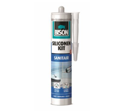 Bison siliconenkit sanitair trijs