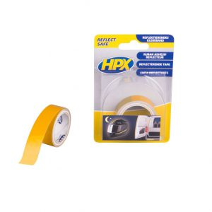 HPX reflecterende tape geel 19mm x 1.5m